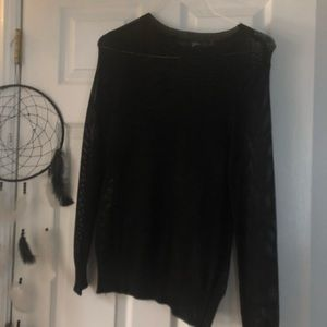Sweaters - See-through black sweater!